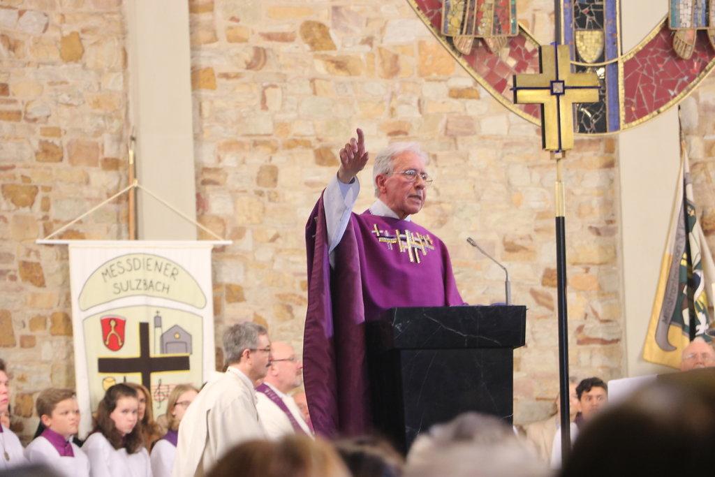 Verabschiedung Pfarrer Paul Schäfer<br> März 2017